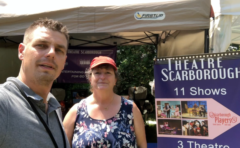 Katherine Turner, President of Theatre Scarborough at Guild Alive with Culture Arts Festival 2018