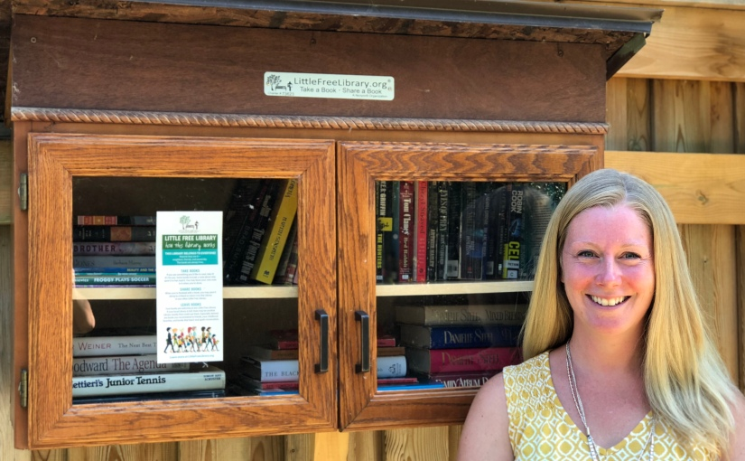 The Little Free Library in Guildwood Village Park