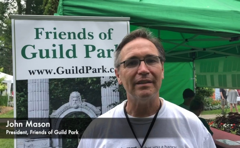 John Mason, Friends of Guild Park, Guild Alive with Culture Arts Festival 2019